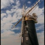 Historic Ixworth Windmill, Suffolk, England by Nancy Myer, f16 Digital, Score: 9