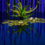 Glass Reflections in Blue by Susan Haffke, f11 Color Digital, Score: 9