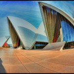 Fish Eyeing the Opera House by Peggy Dietz, 1st f11 Color