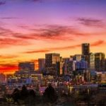 Denver Sunrise by Leander Urmy, 1st f11 Digital