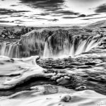 Waterfall of the Gods by Dan Greenberg, 1st f16 Monochrome