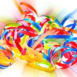 Ribbon Explosion by A. J. Spong, f8 Digital, Score - 9