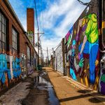 Denver Alley Art by Leander Urmy, f16 Digital, Score: 10
