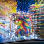 Colorful Car Wash by Leander Urmy, f16 Color Digital, Score: 10