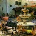 Meet Me in the Courtyard by Marilyn Clark, HM f11 Digital