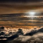 Up in the Clouds by Joe Bonita, f16 Color, Score - 9