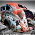 Colorful Relic in a Monochrome World by Dan Greenberg, f16 Digital, Score: 10