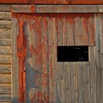 Door, Hampden Barn by Mary Paetow, f16 Digital, Score: 9