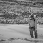 Uphill struggle by Ally Green, f11 B&W Digital, Score: 9