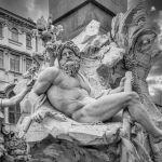 God of the Danube by Al Shinogle, f8 B&W Digital, Score: 9