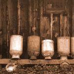 Milk Cans Drying by Judy Kahn, 2nd f5.6 Digital