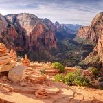 The Cairns at Angel's Landing by Jeff Owens, f11 Digital, Score: 9