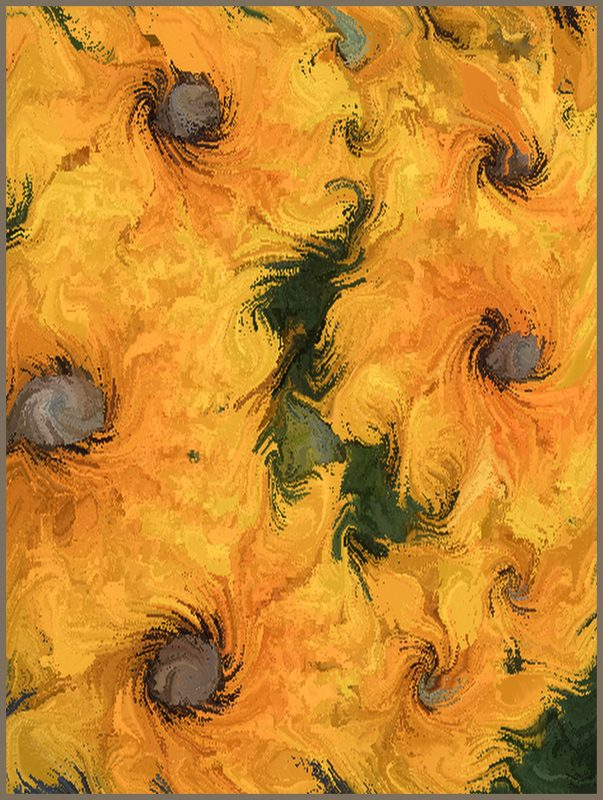 Homage to Van Gogh by Nancy Myer, f16 Digital, Score: 10