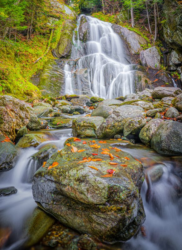 Moss Glen Falls by Ronald Schaller, f16 Digital, Score: 10