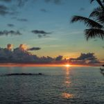 Tropical sunset by Ally Green, f11 Digital, Score: 9