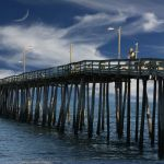 Fishing Pier at Rodanthe by Gwen Paton, f11 Digital, Score: 9