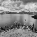 Crater Lake by Fred Larke, f8 Digital, Score - 9