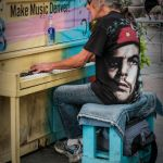 Making Music on the Mall by Nancy Myer, f16 Digital, Score: 9