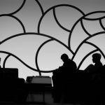 Dreary Airport Lounge by Joe Bonita, f16 Digital, Score: 10