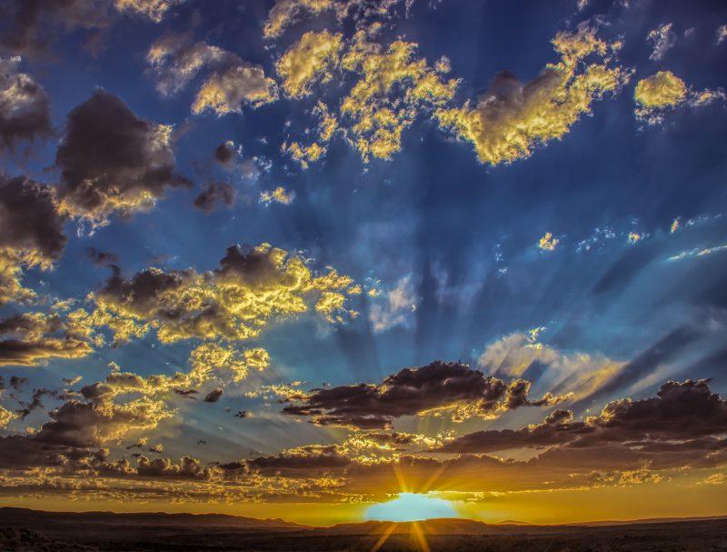 Evening Glory by Ronald Schaller, f11 Digital, Score: 9