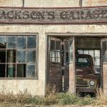 Jackson's Garage by Gwen Paton, f11 Color Digital, Score: 10