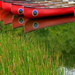 Red Canoes at Fairystone Park by Gwen Paton, f8 Digital, Score: 10
