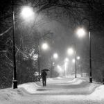 Snowy Night in Boston by Gwen Paton, f11 Digital, Score: 9