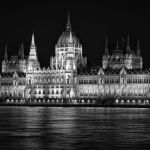Danube Beacon by Gary Witt, f16 Monochrome, Score: 10