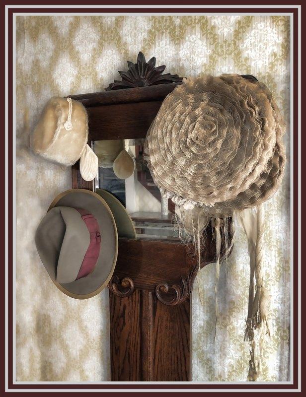 Hats on Rack by Bill Dickson, F11 Color Digital, Score: 9