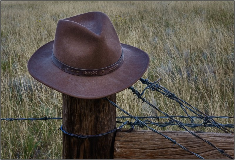 Elbert County Hat Rack by Dave Hull, F16 Color Digital, Score: 10