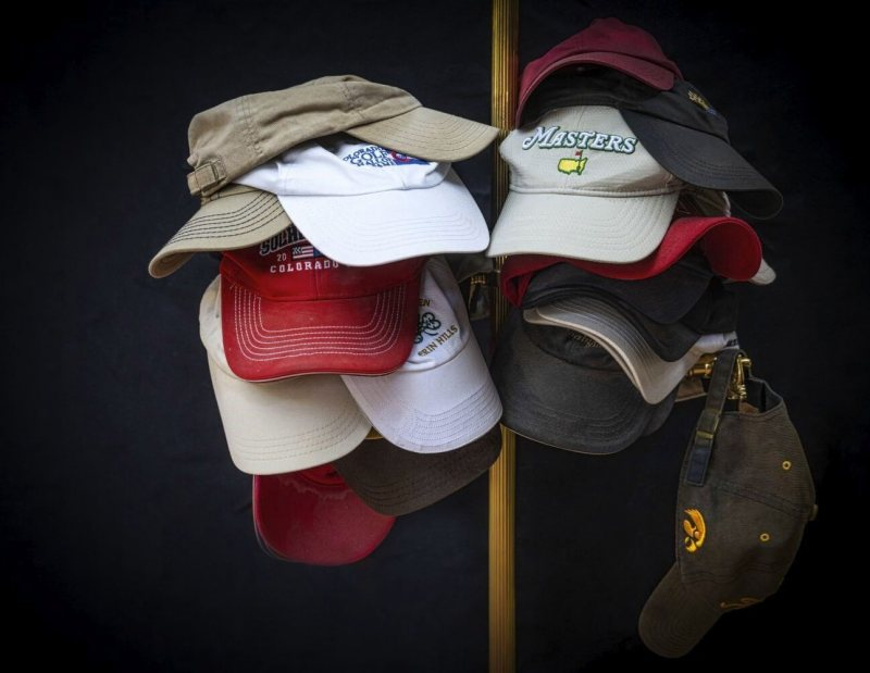 My Golf Hats by Lucius Ashby, F11 Color Digital, Score: 9