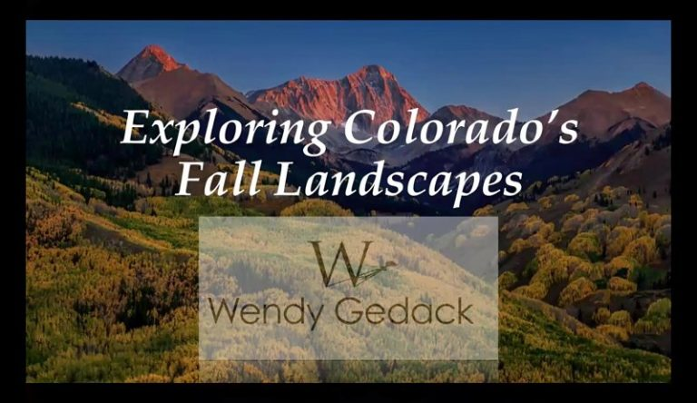 Exploring Colorado Fall Landscapes video thumb